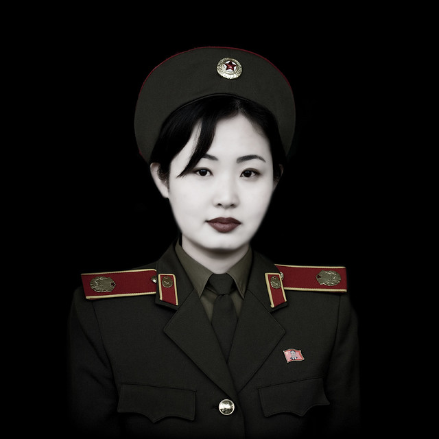 My Newest Tattoo She Is A Soldier In The War Against: Miss Kim In Pyongyang, North Korea DPRK 북한