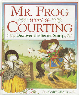 DK Frog - Based on the folk song, this frog went a' courting for Dorling Kindersley. I created the story and produced the full colour illustrations for this traditional children's picture book. | by widdershins3
