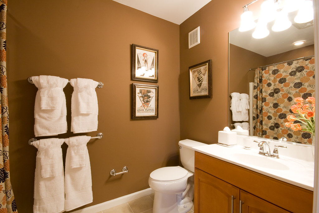 Model Home Bathroom Model Home  Bathroom  Taken In A New Home Community In Car…  Flickr