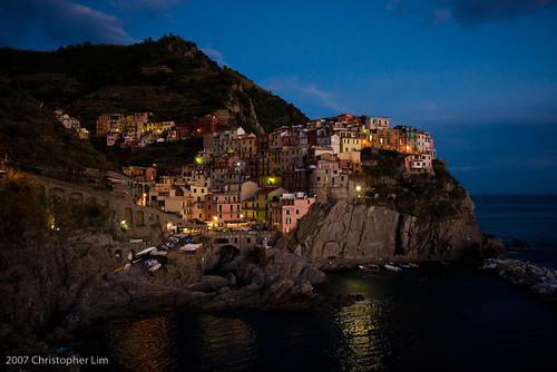 Cinque Terre - Manarola, Night | by PocketLim