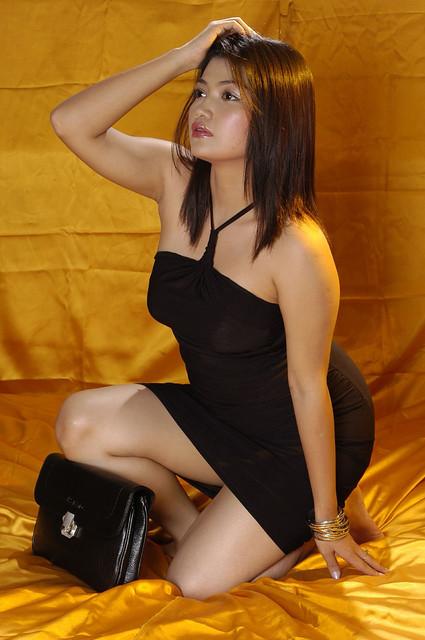 Myo Sandi Kyaw Myanmar Model Girl  Super Sexy Hot Chick -5935