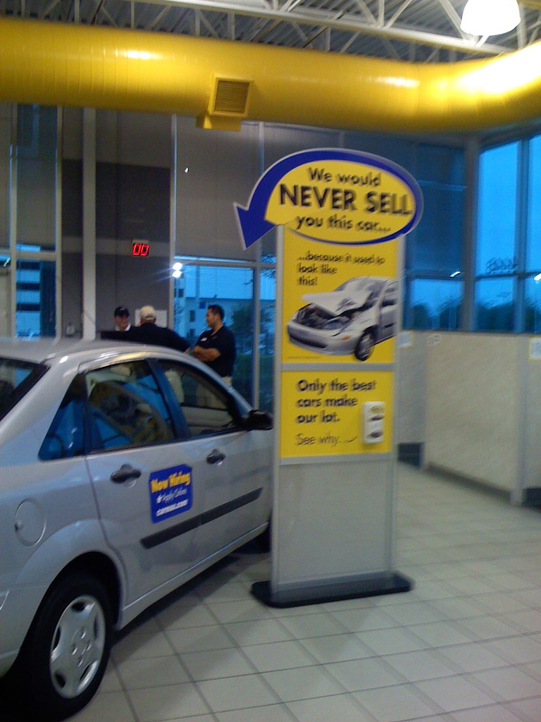 CarMax wouldn\'t sell you my old car. | It\'s a Focus sedan, b… | Flickr
