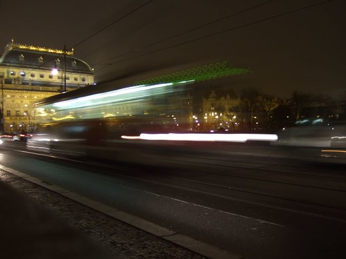 Tram on Bridge of Legions, Prague | by ollyj