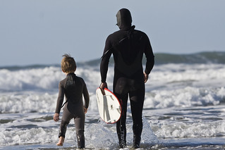 Father and son surf lesson in Morro Bay, CA 12 of 12 | by mikebaird