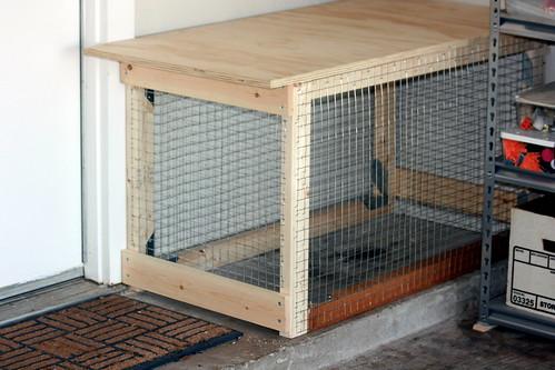 Cat Litter Box Garage Enclosure