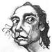 Dibujo salvador Dalí