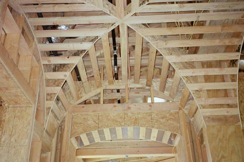 Groin vault groin vault by williams construction for Groin vault pictures