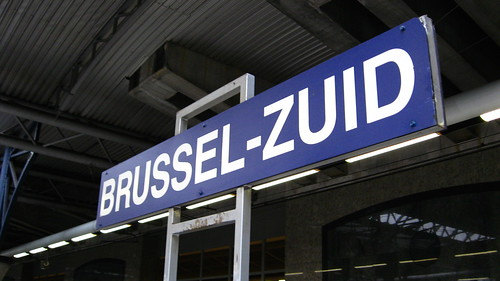 Brussel-Zuid station sign | by R/DV/RS