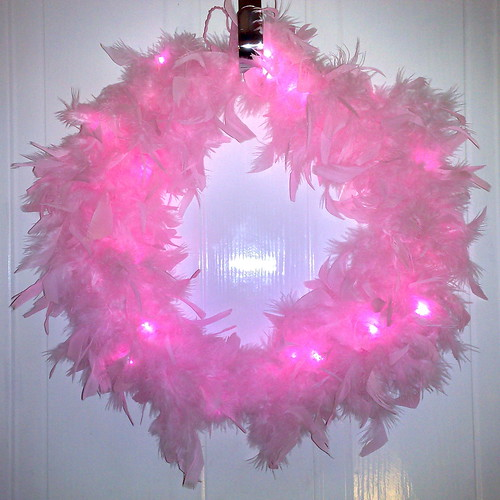 Wreath of Pure Pinkness | by Becky E