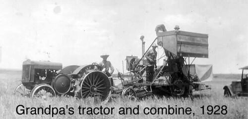 Power Wheels Tractor >> Grampa Lorenzo Schlabach's 1927 John Deere Model D tractor… | Flickr