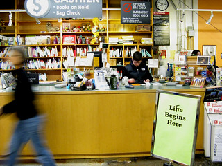 powells: Life Begins Here | by the new world