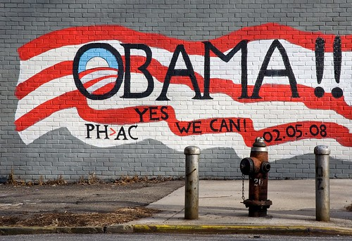 OBAMA!! YES WE CAN! | by threecee