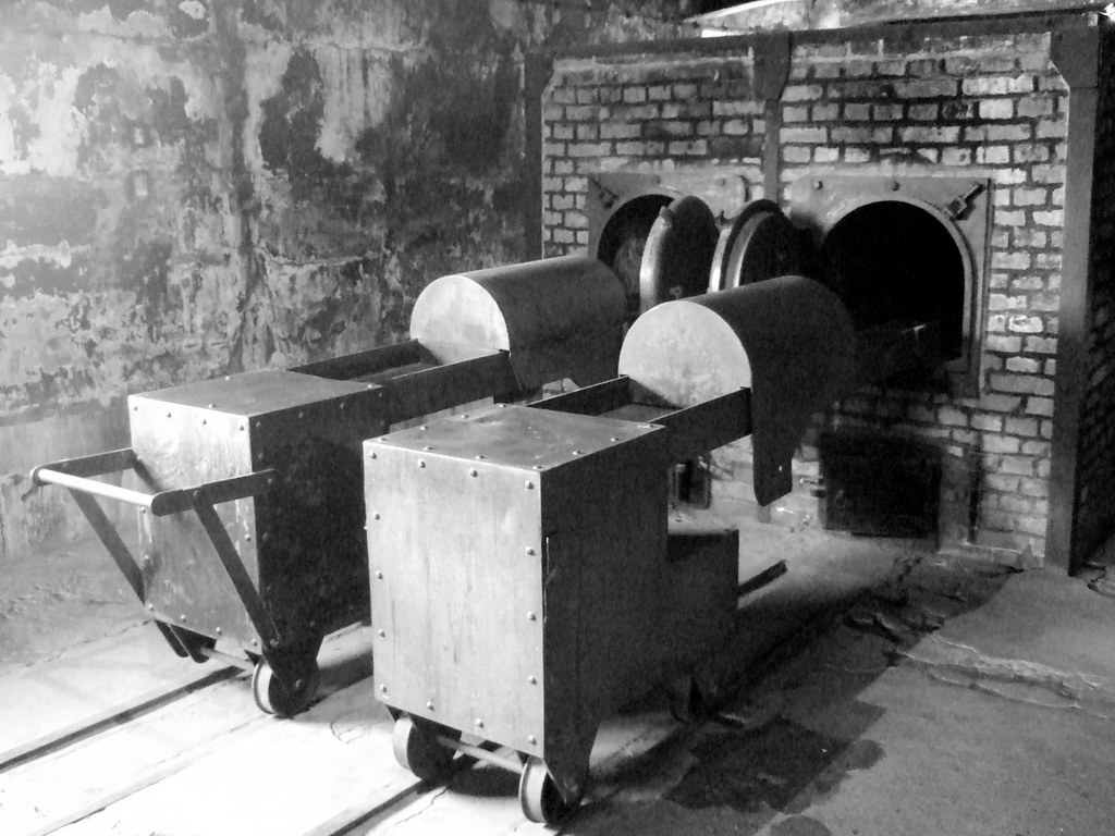 Incinerators at Auschwitz crematorium | delayed ...