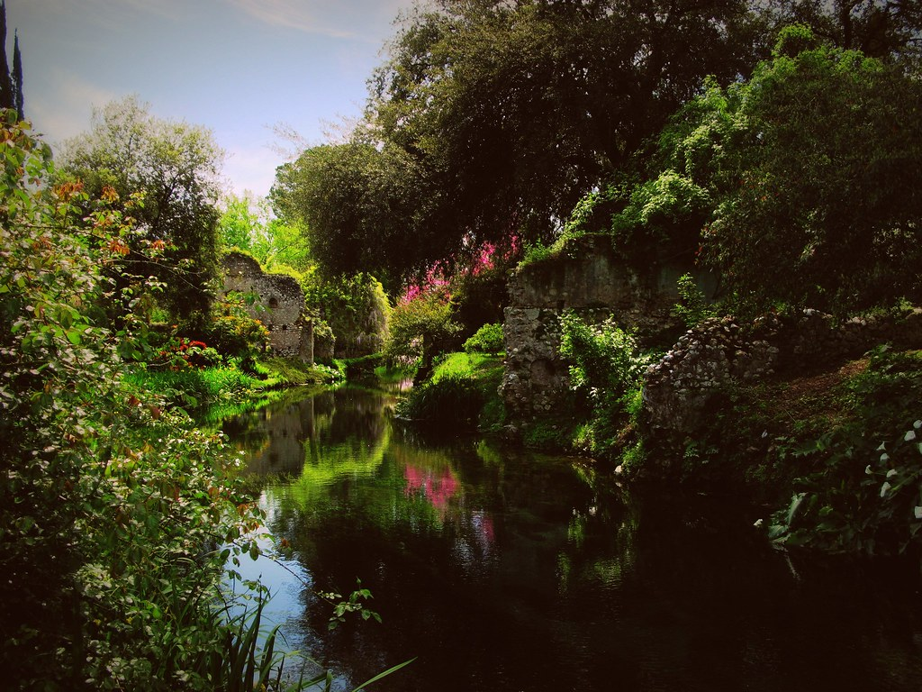 Giardini Di Ninfa Flickr