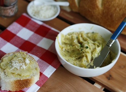 Leek Garlic Spread 3 | by Sarah :: Sarah's Cucina Bella