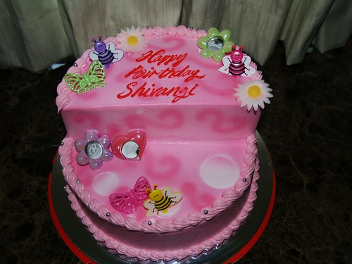 Cake Images With Name Kavita : Shivangi s Barbie themed birthday cake - Yummy !!! Flickr
