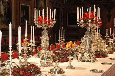 Windsor Castle Queen Victoria S Dazzling Dinner Service