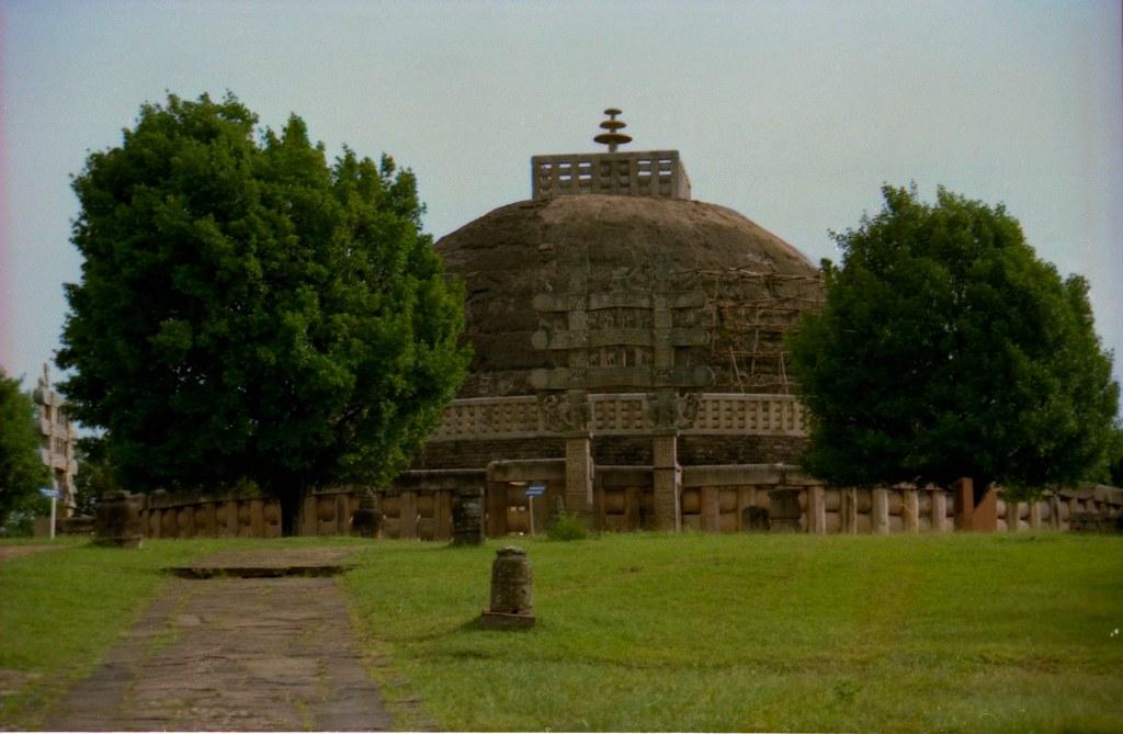 Great Stupa, Sanchi, Near Bhopal, Madhya Pradesh, India, 1