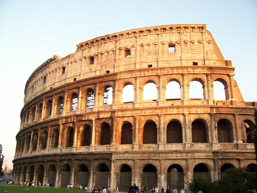 A research of the roman coliseum