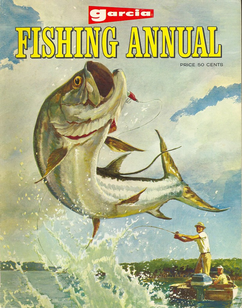 Annual 1967 garcia annual fishing guide and catalog flickr for Free fishing catalogs