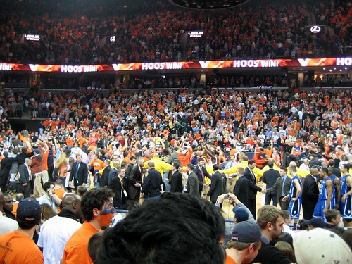 Duke v. UVA Basketball 2007