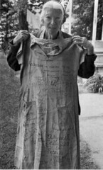 Dorothy Day with prison dress | by jimforest