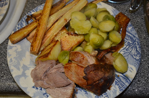 roast pork dinner Feb 17