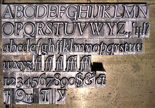 36-point Caslon Italic . . . I mean Goudy . . . | by Lunada Bay Letterpress