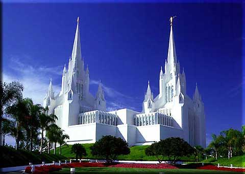 Templo De San Diego California Otavio Augusto Sara 199 Ol