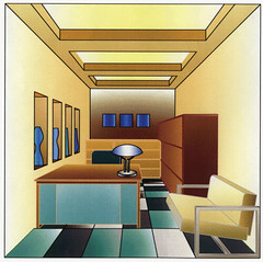 Auto CAD Perspective Drawing (Restaurant Manager Office Re… | Flickr