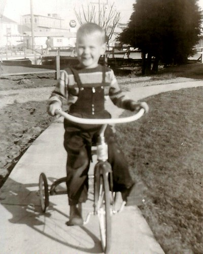 my first tricycle - summer 1956 | by David A's Photos