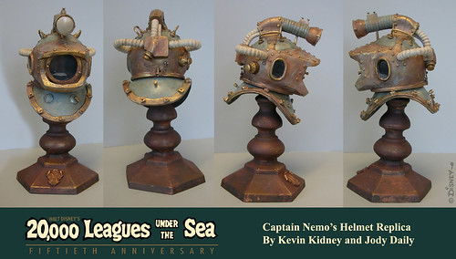 20,000 Leagues Under the Sea Nemo Helmet | by Miehana