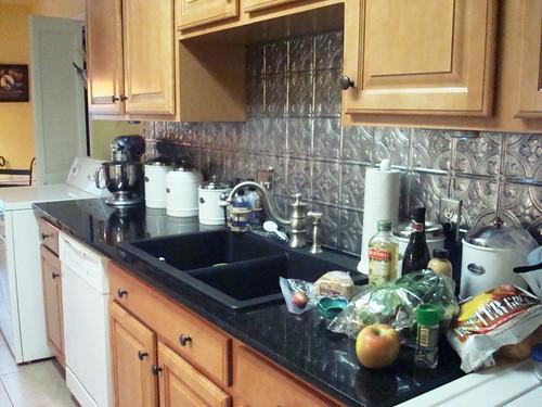 Kitchen Backsplash Tin Ideas