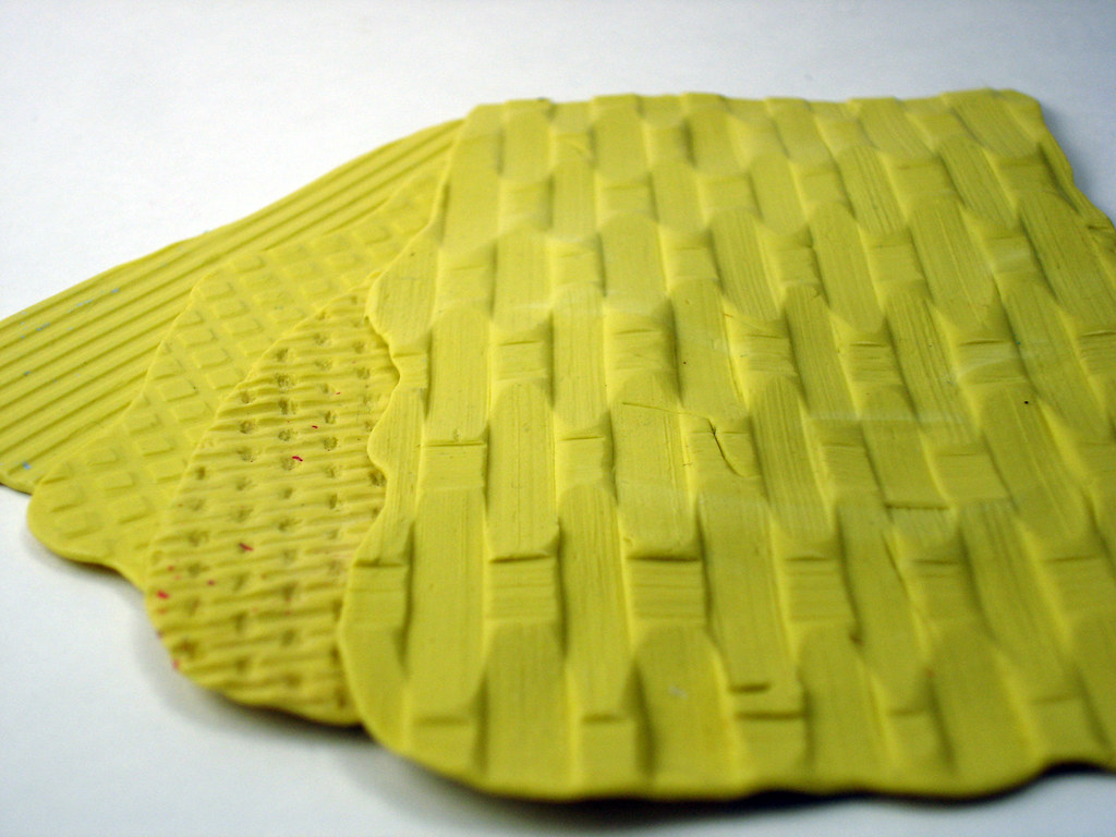Basket Weaving Molds : Texture molds a variety of from left to