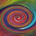 Stunning Rainbow Swirl