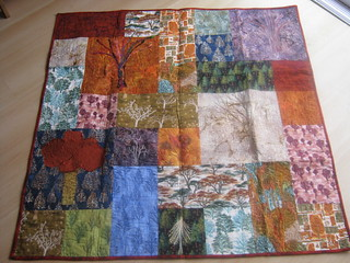 Gorgeous Tree Quilt from Katy for my 40th | by Cathi O'Neill