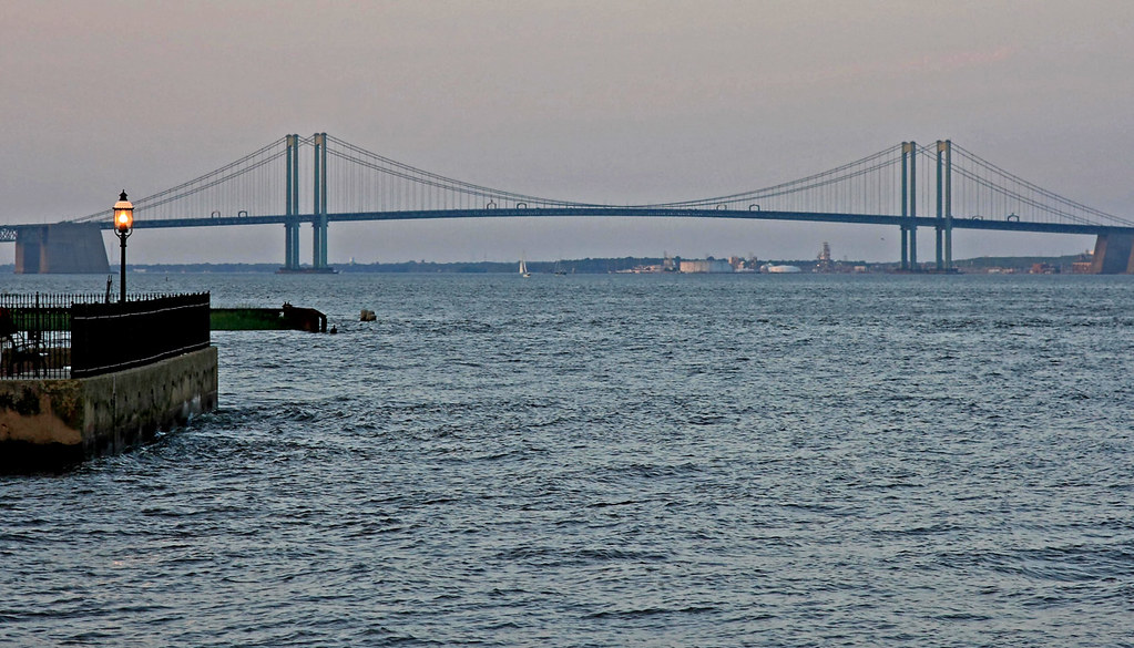 Delaware Memorial Bridge  Went To Old New Castle For
