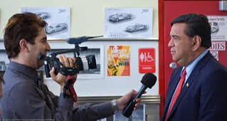 Bill Richardson interviewed for Hispanic media | by MikeSchinkel