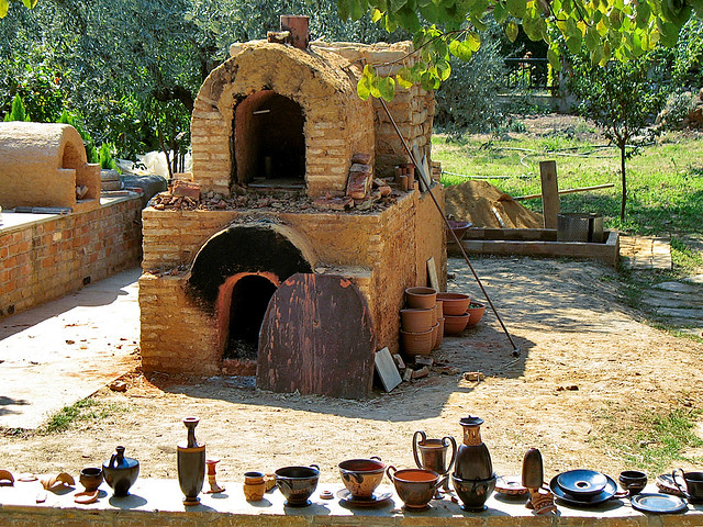 Wood Fire Kiln At Ceramics Center At Pilion This Old