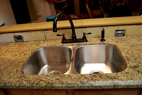 Kitchen Sink Counter Decor