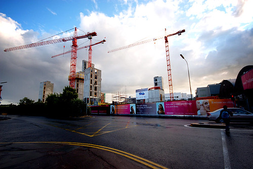 Towering over the Elysian building site | by Donncha Ó Caoimh