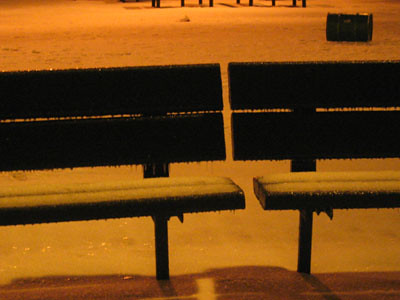 Night Benches | by Aoife city womanchile