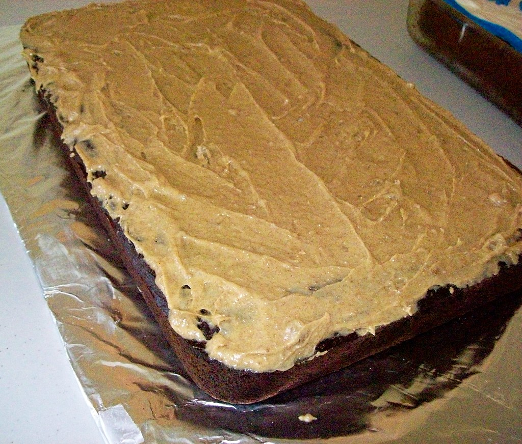 Peanut Butter Cake Made With Buttermilk