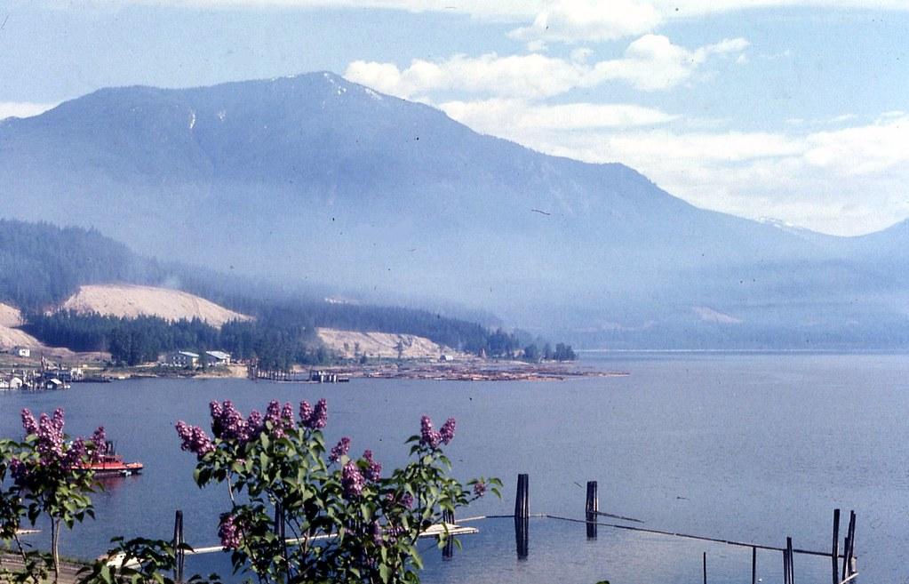 Arrow Lake at Nakusp, BC