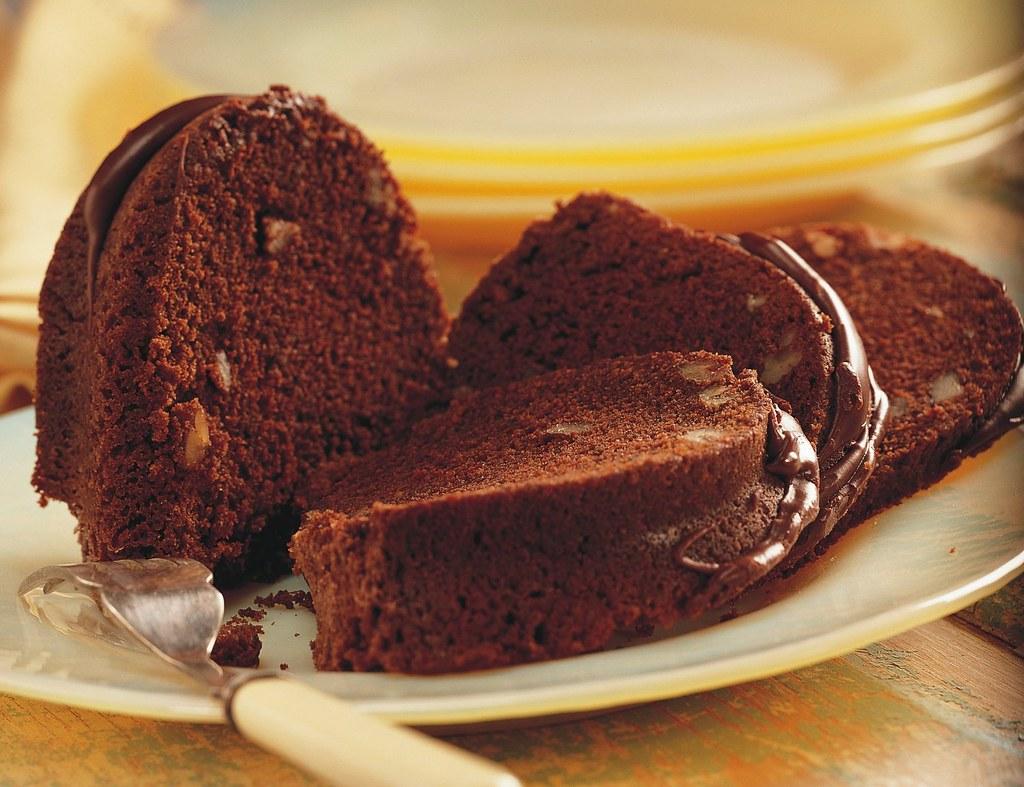Chocolate Pecan Bourbon Cake Recipe | INGREDIENTS: Cake: 2 c ...