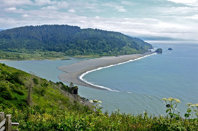 Sand spit at klamath river mouth flickr photo sharing for Surf fishing northern california