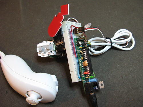 Boarduino with Wii Nunchuck & Servo | by todbot