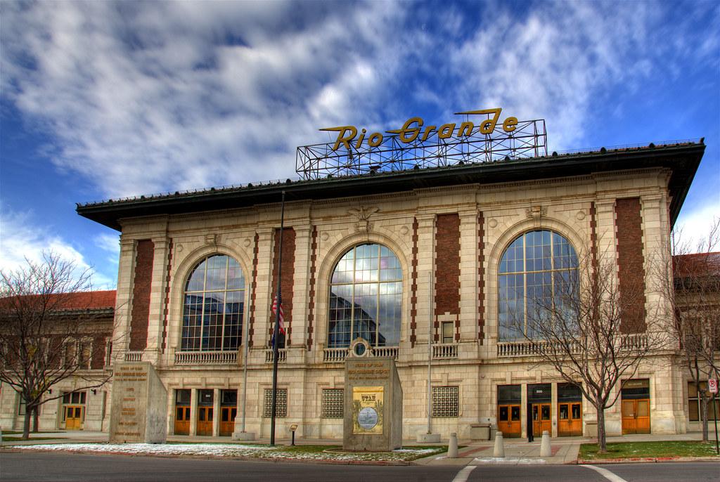 Utah Train Station Salt Lake City