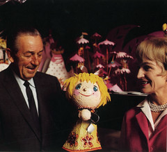 Walt Disney and Mary Blair 1964 | by Miehana