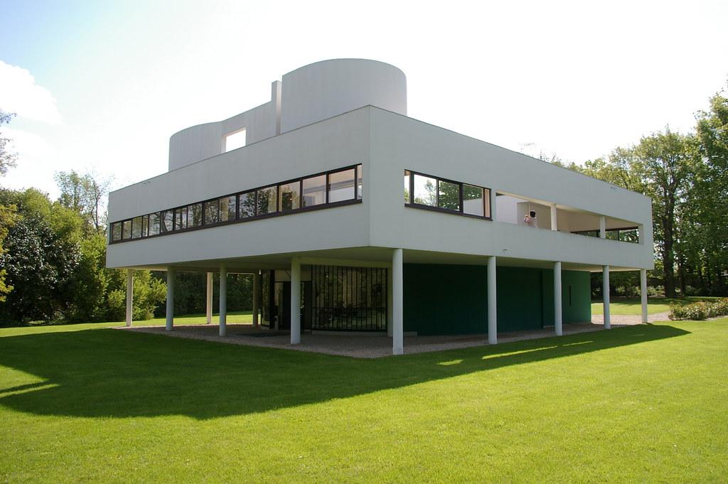 Villa savoye le corbusier 1929 poissy thom mckenzie for Poissy le corbusier